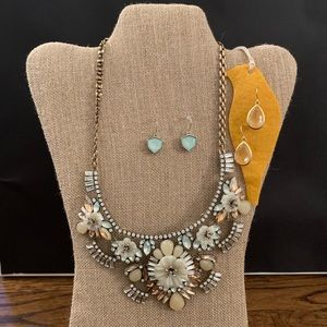 Chloe + Isabel Pastel Statement Necklace Set